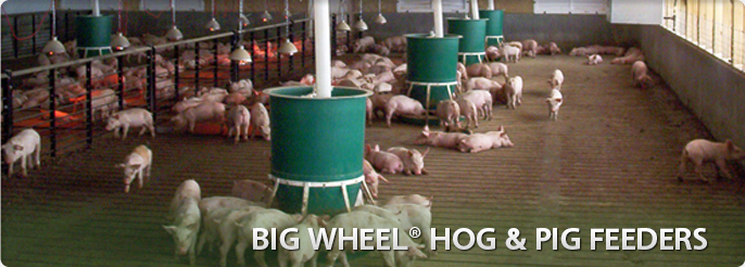 Big Wheel Hog & Pig Feeders