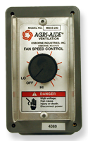 Agri-Aide Manual Ventilation System Control