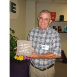 Thibault Celebrates 40 Years of Service with Osborne