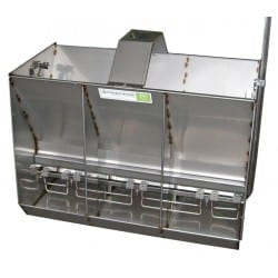 Osborne Introduces New Stainless Steel Rectangular Hog Feeders
