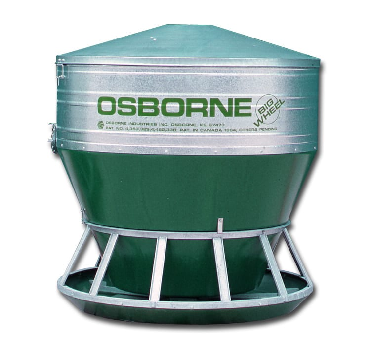 Big Wheel Outdoor Bulk Feeder