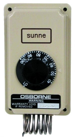 thermostat osborne livestock equipmenttwo speed thermostat