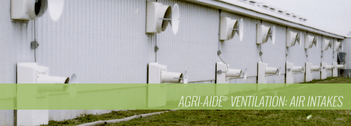 Agri-Aide Ventilation Air Intakes