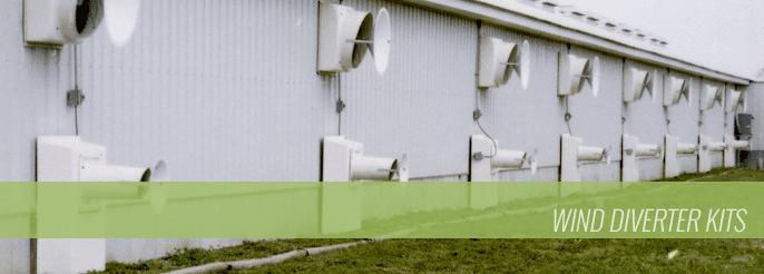 Wind Diverter Kits
