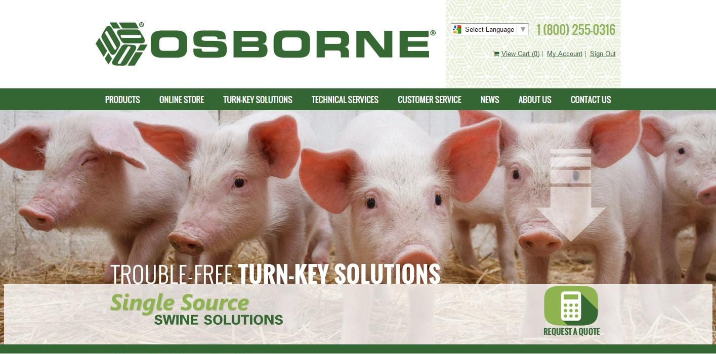 Osborne Livestock Equipment New Website