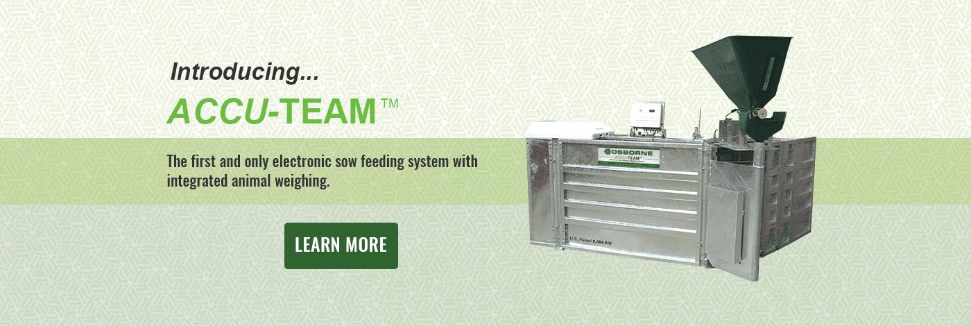Accu-Team Sow Feeding System