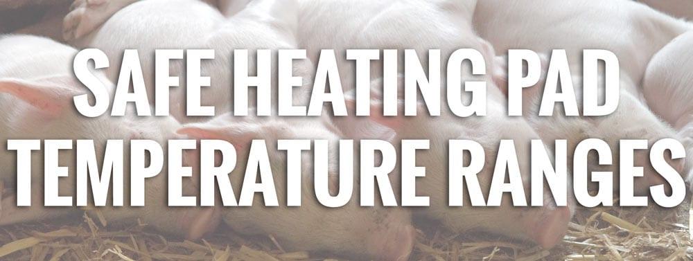 Heating Pad Temperature Ranges
