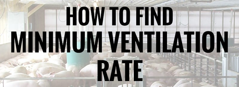 Minimum Ventilation Rate