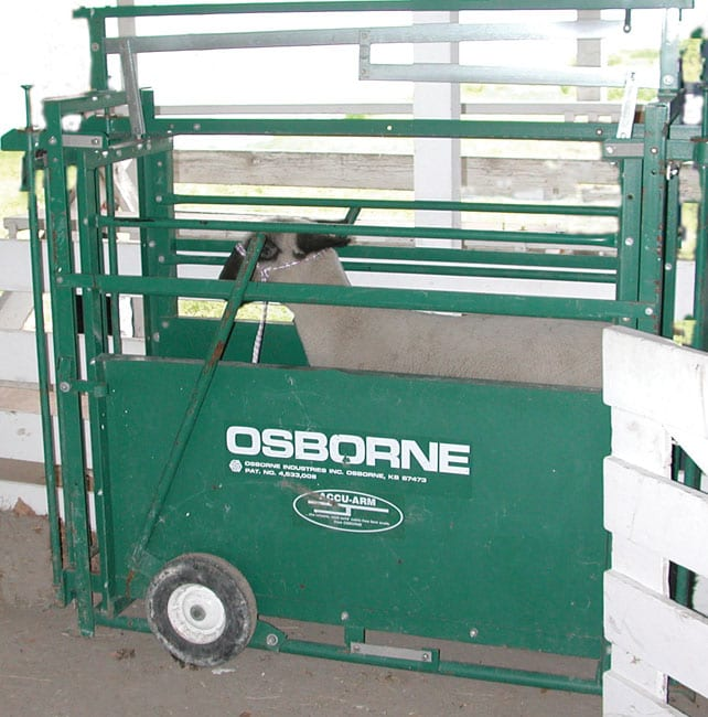 portable livestock weighing scales